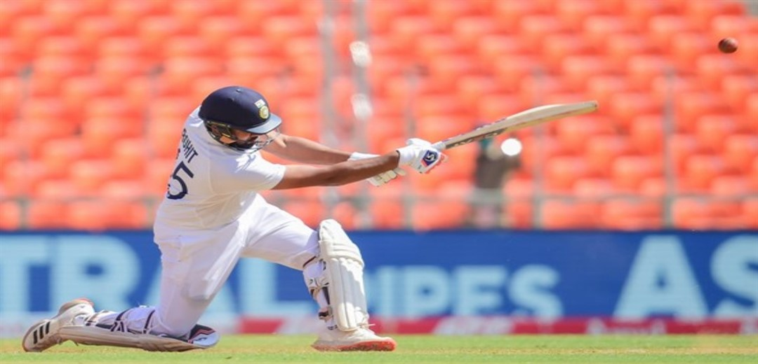 Day 2: Rohit defends but India struggle at 80 for 4 at lunch