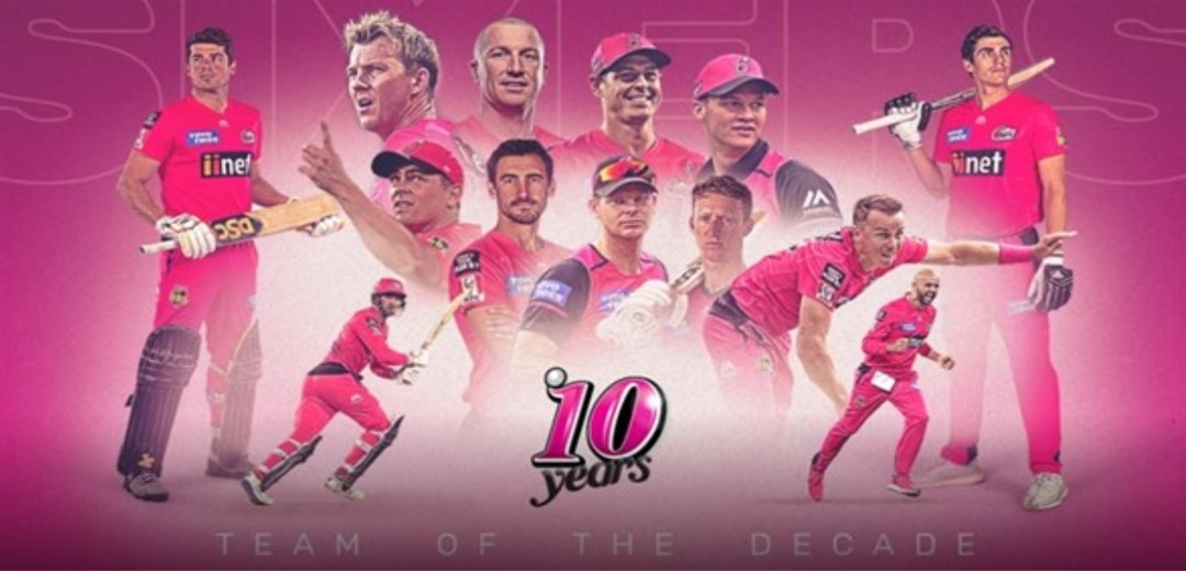Sydney Sixers announce BBL team of the Decade
