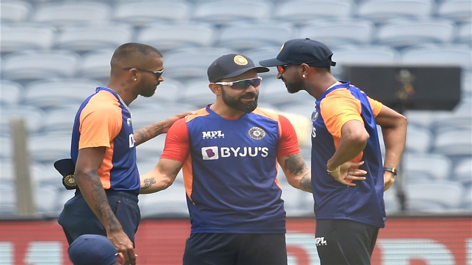 After record-breaking fifty on debut, Krunal Pandya breaks down remembering late father