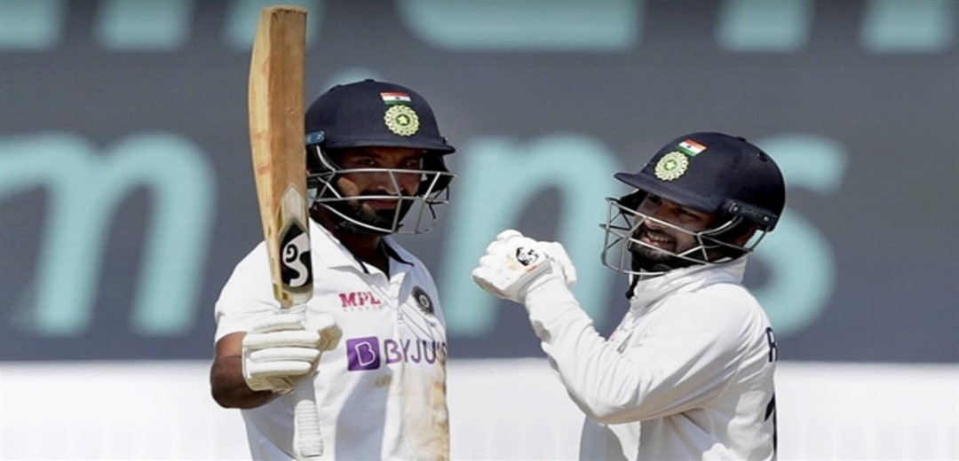 England take control after sizzling Pant, calm Pujari's counter-attacking stand