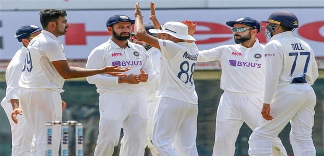 Scoreboard 1st India-England Test, Tea: Day 4