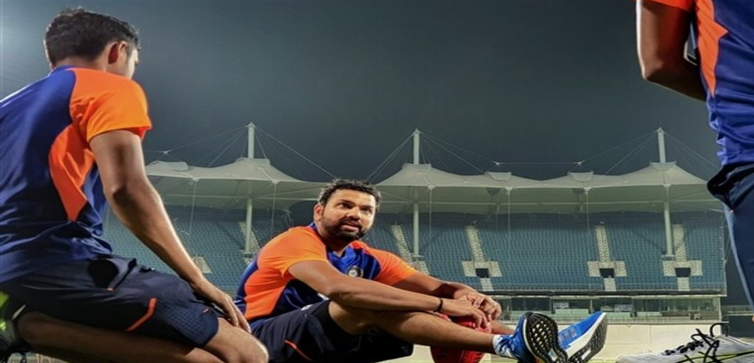 India lose Rohit cheaply in mammoth chase