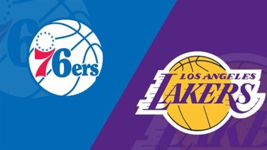 Sixers defeat Lakers 109 - 101 at the Staples Cente
