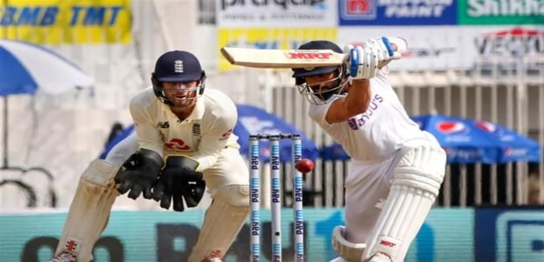 Chennai Test: India 221-8 at tea, extend lead to 416 runs