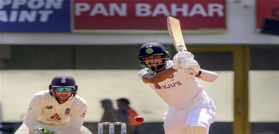 India vs England Scoreboard at tea on Day Two