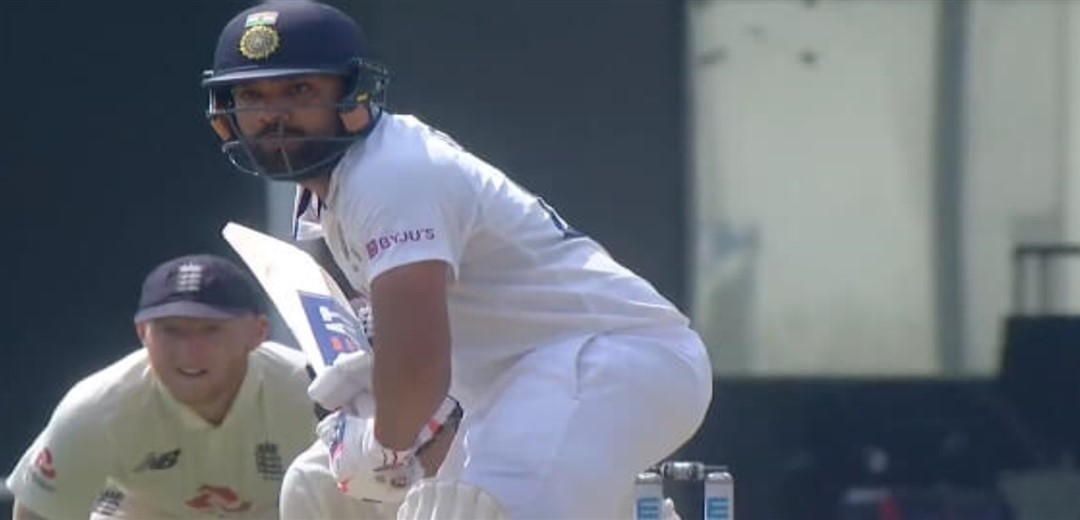 Rohit smashes unbeaten 80 in India's 106/3 at lunch on Day 1