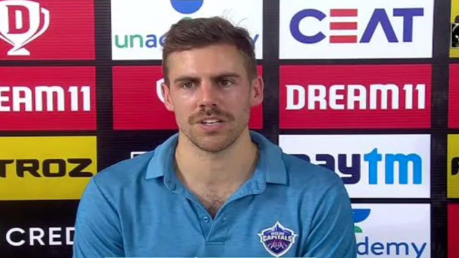 Hope I can build it up from here on: Nortje after re-joining Delhi squad
