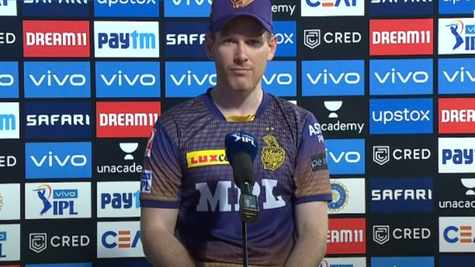 KKR skipper Morgan fined Rs 12 lakh for maintaining slow over-rate