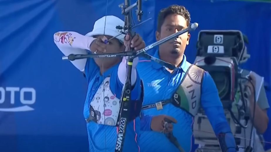 Archery couple 'Dee-Das' shoots triple gold as India finish with four medals at World Cup