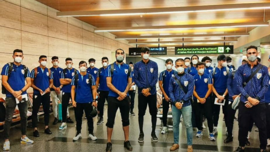 Indian football team awaiting COVID-19 test results after arrival in Doha