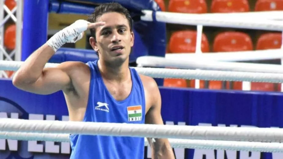 Asian Boxing: 3 Indian men storm into finals; Vikas ends with bronze