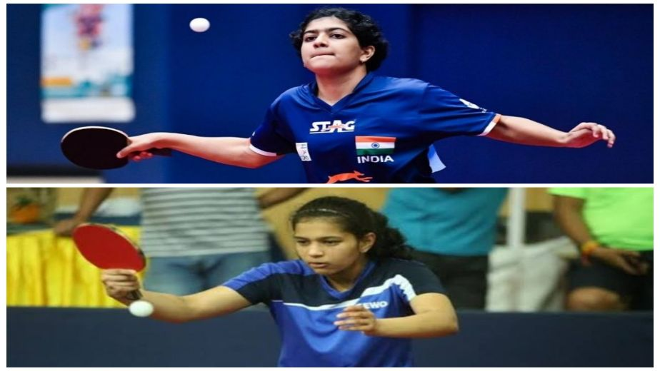 India paddlers Diya Chitale and Swastika Ghosh finish runners-up at WTT Youth Star Contender