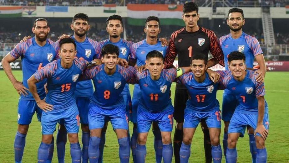 10-man Indian football team lose 0-1 to Qatar in World Cup qualifying round match