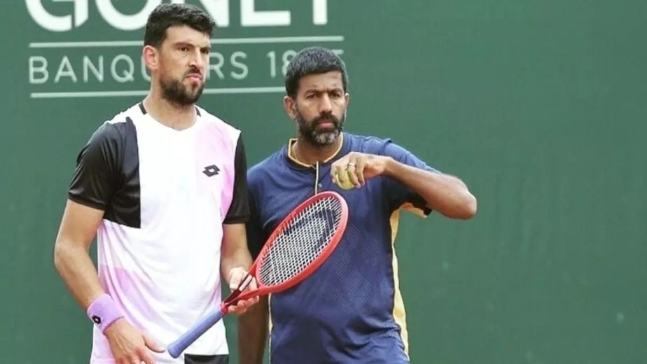 Indian tennis player Rohan Bopanna and Croatia's Franko Skugor advance to French Open quarterfinals