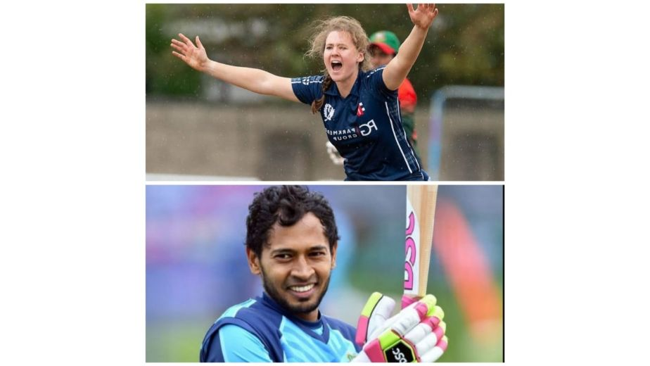 Cricketers Mushfiqur Rahim and Kathryn Bryce voted ICC players of the month for May