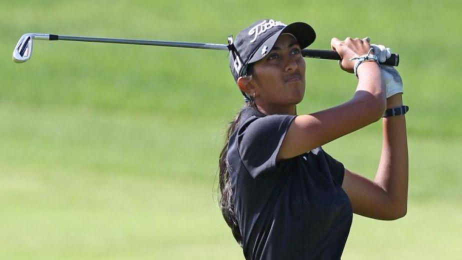 Indian golfer Aditi Ashok gets off to a tough start at Meijer LPGA Classic
