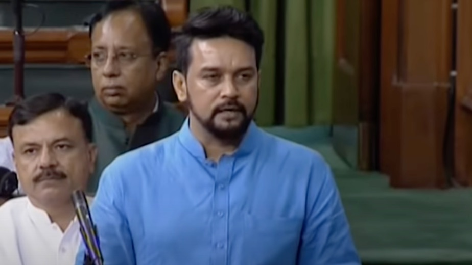 Anurag Thakur replaces Rijiju as new Sports Minister just 16 days before Olympics
