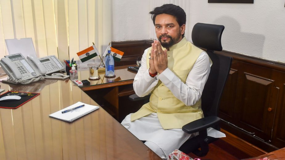 Sports Minister Anurag Thakur chairs meeting of high-level committee to review India's Olympic preparation