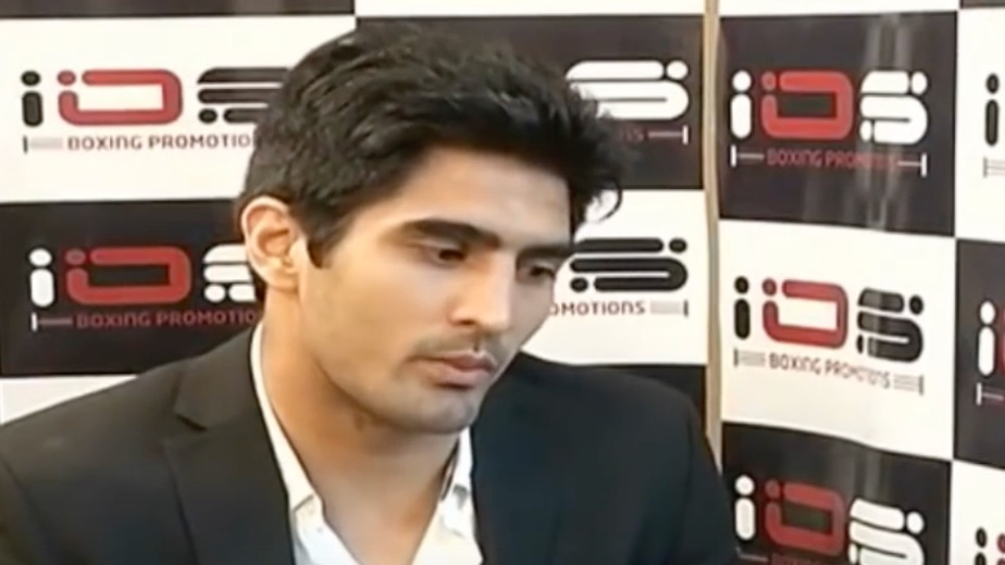 Indian boxer Vijender Singh criticises Haryana for not promoting sportspersons employed with state police
