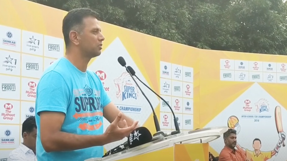 India responded like champions, says Dravid in dressing room speech