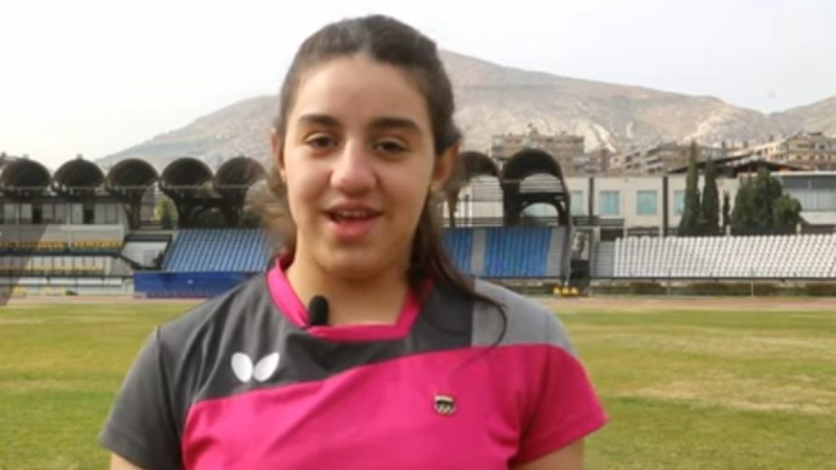 Youngest Tokyo Olympian Zaza from war-ravaged Syria living her Olympic dream
