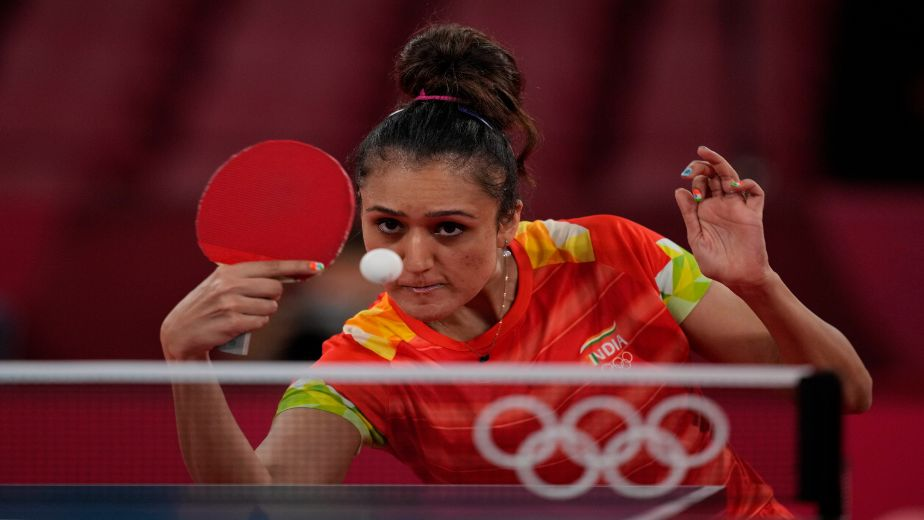 Paddler S Mukherjee makes a impressive comeback from 3-1; Manika Batra wins in a clean sweep in Round 1 of women's singles TT