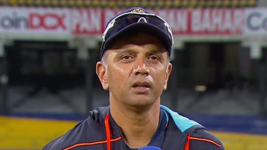 Enjoyed the experience, haven't given thought to anything else: Dravid on India coach job