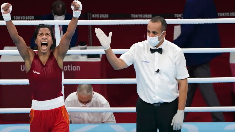 Boxing: Cool and composed Lovlina chases historic Olympic final berth: up against world champ