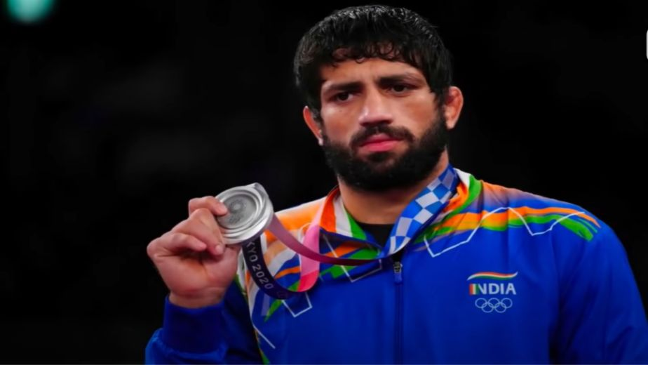Olympic medalist Ravi Kumar Dahiya thanks Haryana CM for announcing indoor wrestling stadium in Nahri, Sonipat