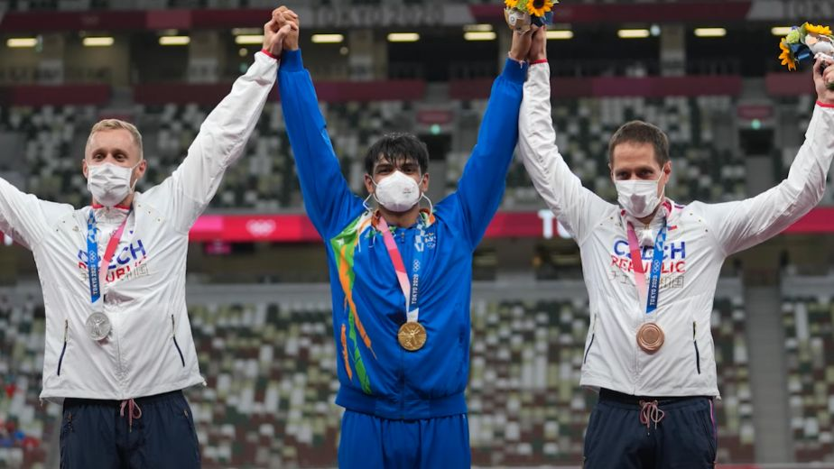 World Athletics names Neeraj's gold winning feat as one of 10 magical moments of track and field in Tokyo Olympics