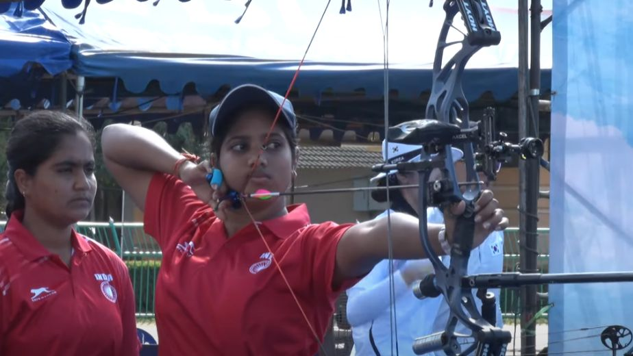 Cadet archers make clean sweep in team events at the Youth World Championships