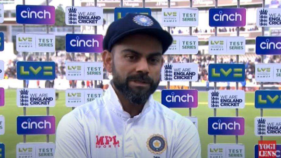 On field tension during our second innings helped our bowlers says Indian skipper Virat Kohli