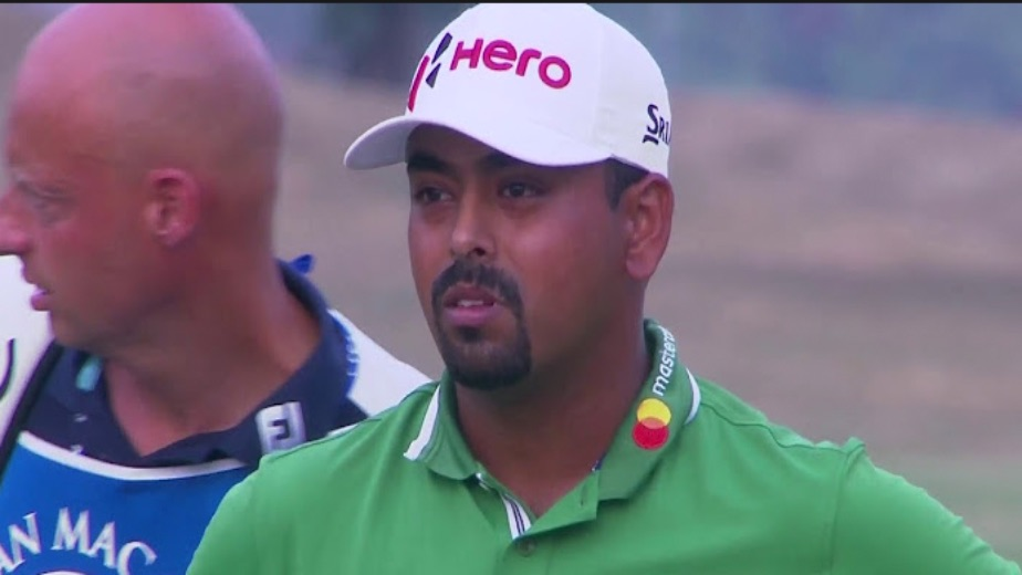 Lahiri shoots 69 for T-15 at The Northern Trust