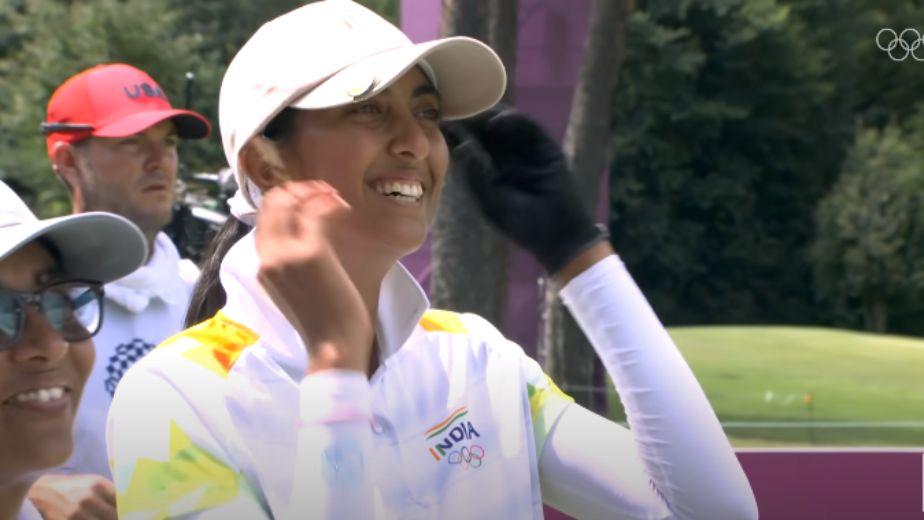 Aditi Ashok makes cut at Women's Open golf