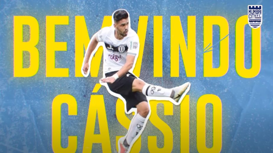 Mumbai City FC complete loan move for Cássio Gabriel