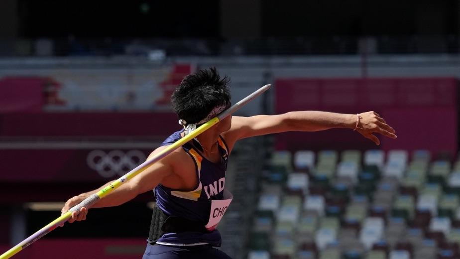Rajnath felicitates `Defence Forces Olympians', renames ASI stadium after Neeraj