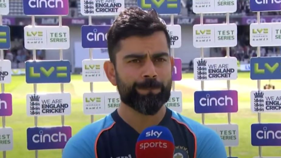 India crumbled due to relentless pressure from England, first-innings collapse was bizarre: Kohli