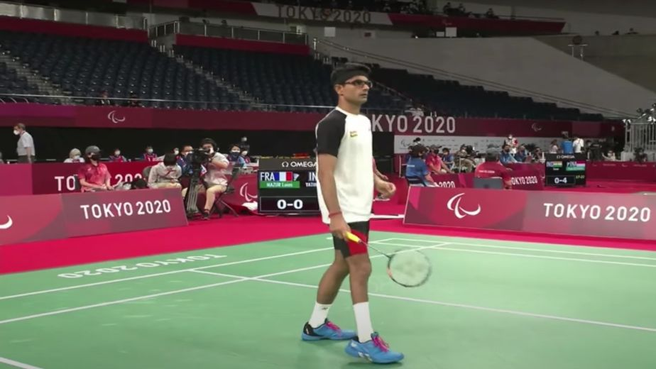 Suhas claims silver in badminton at the Tokyo Paralympics