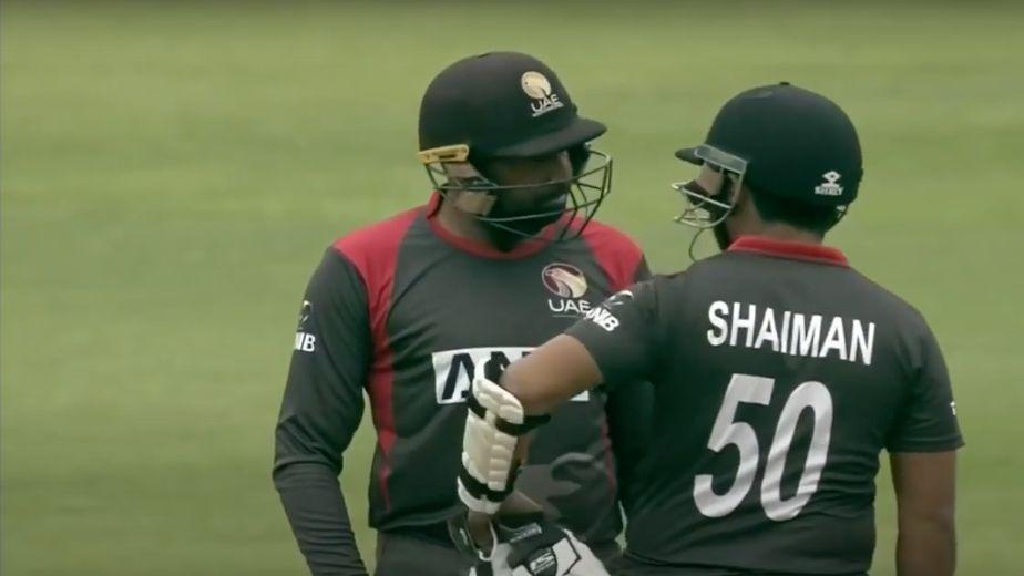 UAE stumper-batter Shabbir banned for 4 years
