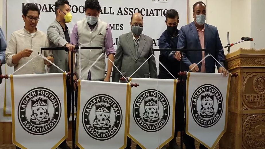 Ladakh FA launches logo, receives support from AIFF
