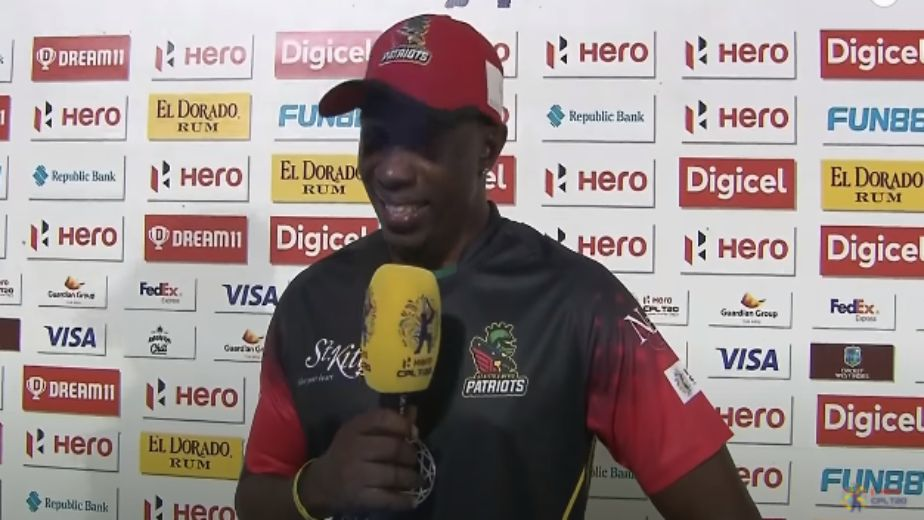 Lewis seals semi-final spot for Patriots; Guyana and Saint Lucia Kings too win