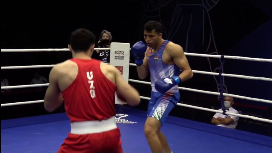 Sumit Sangwan among winners on day 1 of National Boxing