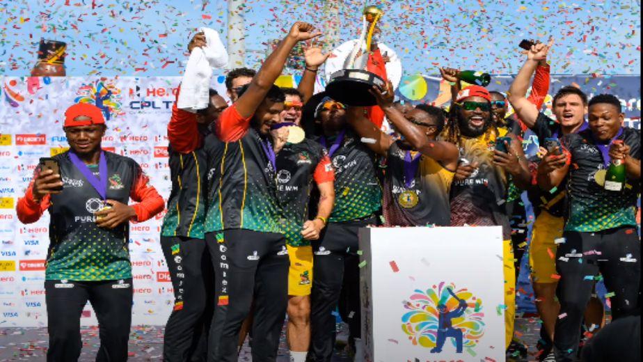 St Kiits & Nevis win maiden CPL title, beat Saint Lucia in last ball thriller