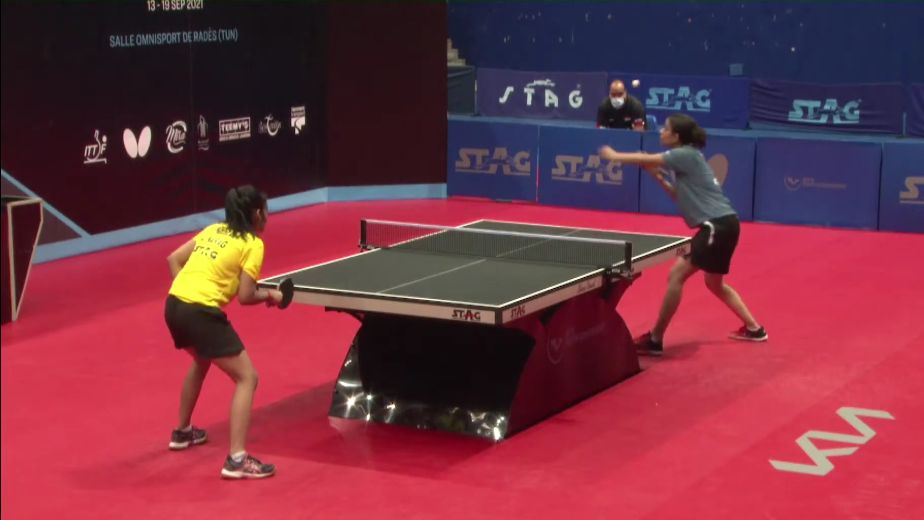 Golden sweep for Indian girls in Tunis