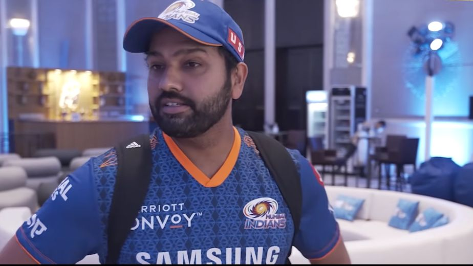 Rohit Sharma rested due to knee niggle