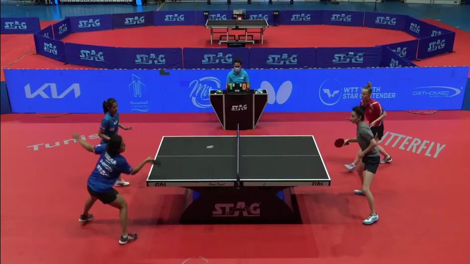 Indian TT players make merry at WTT Youth Contender Meet in Tunisia