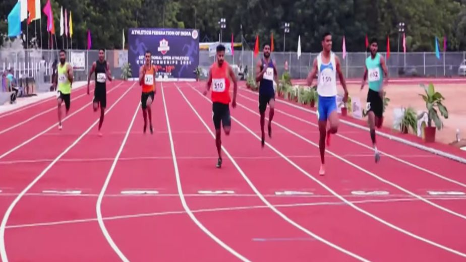 After winning 200m gold in only his 2nd senior level race, Amlan Borgohain wants to just run fast