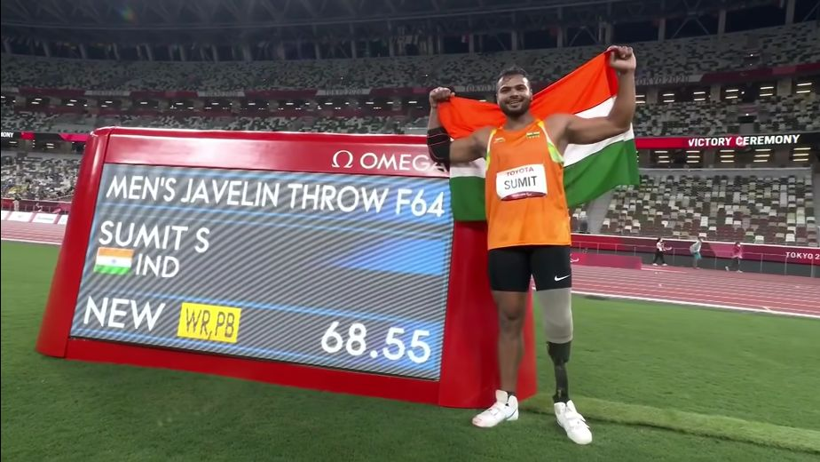 Felicitations continue for Paralympic medal winners