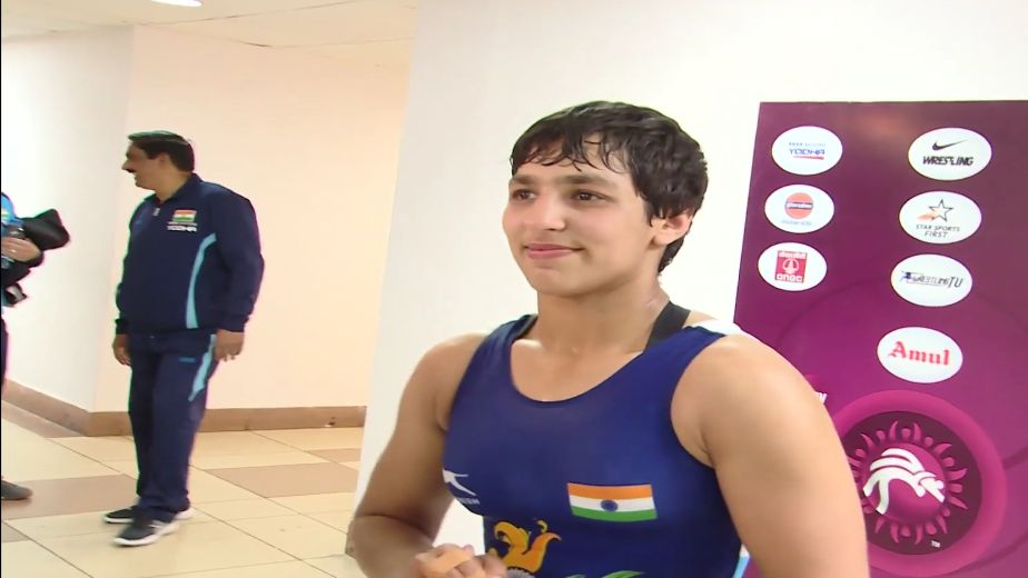 Anshu creates history, becomes first Indian woman wrestler to reach World Ch'ship final