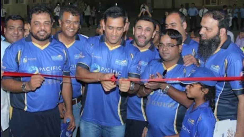 Dhoni Cricket Academy launched in Bengaluru